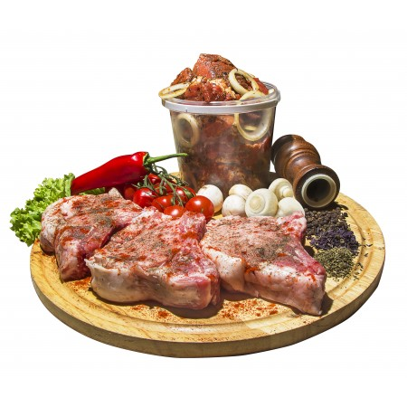 Чалагач корейка свиная маринованная