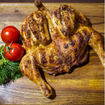 Цыплёнок на мангале