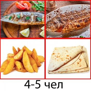 Комбо Сет - Рыбный  (4-5чел)